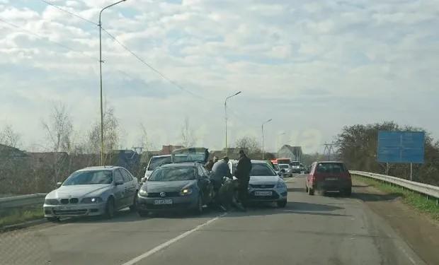 Масштабна ДТП на виїзді з Ужгороду