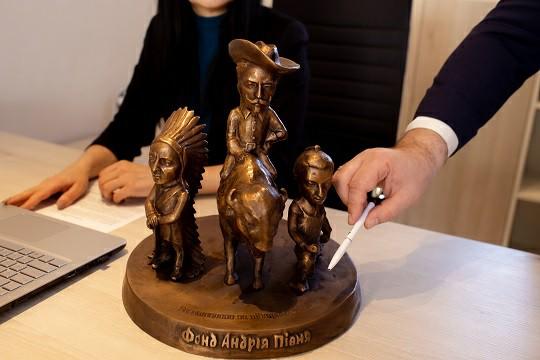 Нова мініскульптура, що розмовлятиме, з'явиться в Ужгороді
